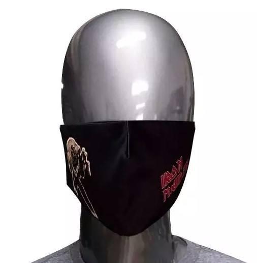 Máscara de Tecido Iron Maiden