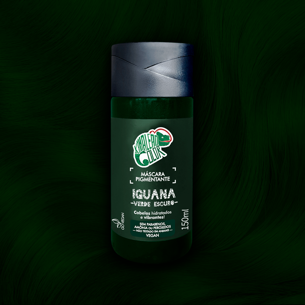 Máscara Pigmentante Kamaleão Color Iguana 150ml