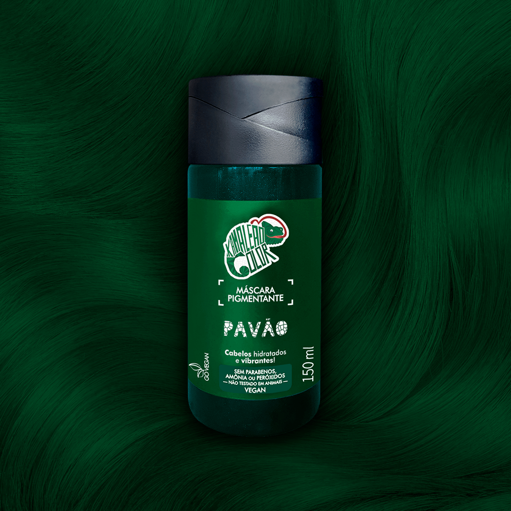 Máscara Pigmentante Kamaleão Color Pavão 150ml