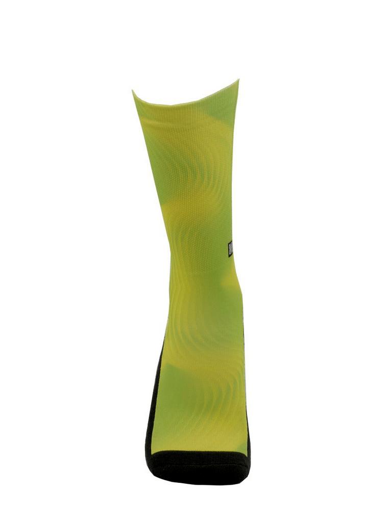 Meia Cano Alto - Estilo Neon Verde