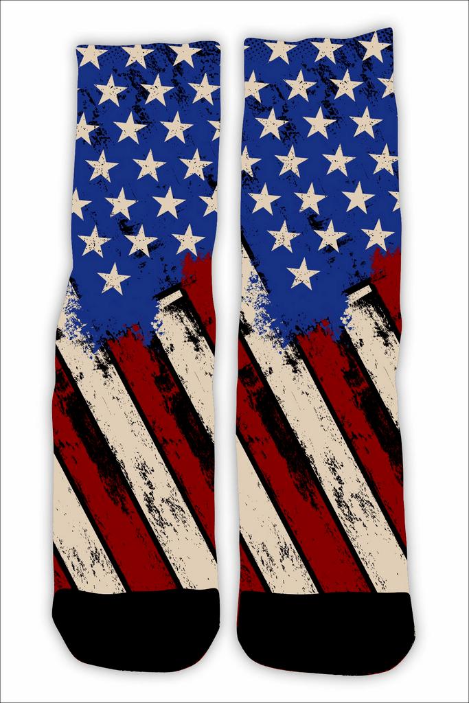 MEIA FLAG USA