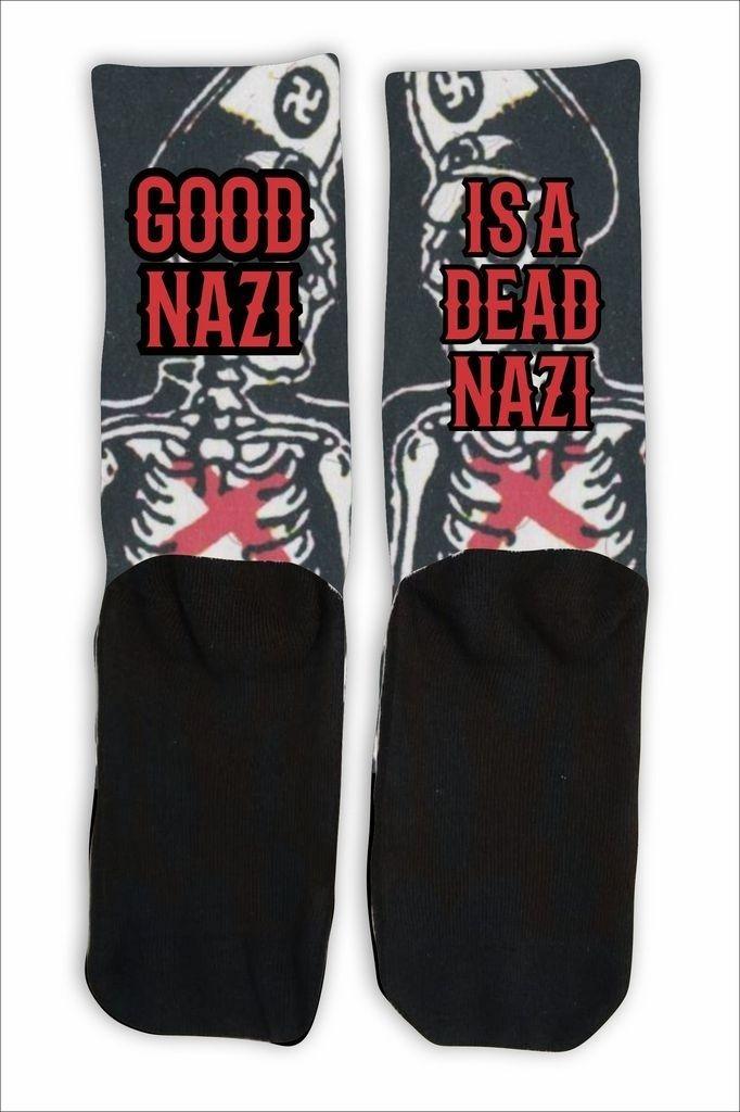 Meia Cano Alto - Dead Nazi