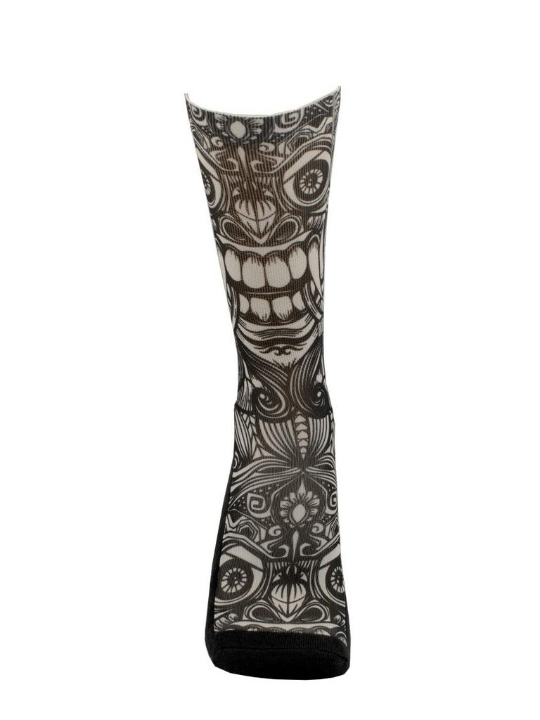Meia Cano Alto - Tattoo Totem Maori