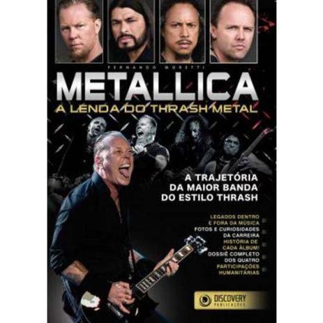 Metallica - A Lenda do Trash Metal