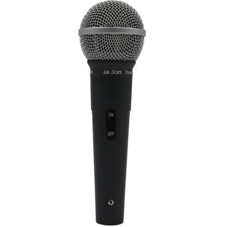 Microfone Dinâmico com fio Le Son LS 58
