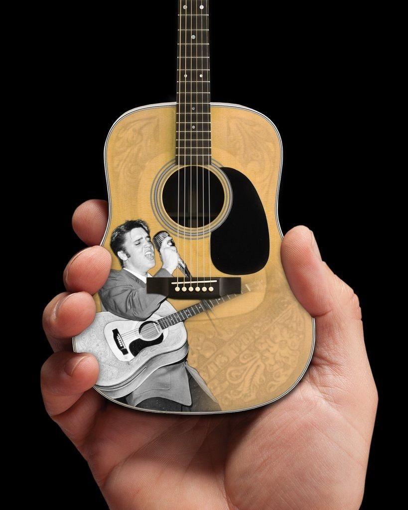Miniatura Violão 55 Elvis Presley