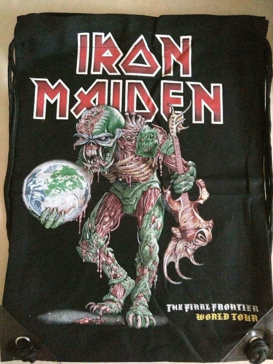 Mochila Banda Iron Maiden  The Final Frontier Casual Importada