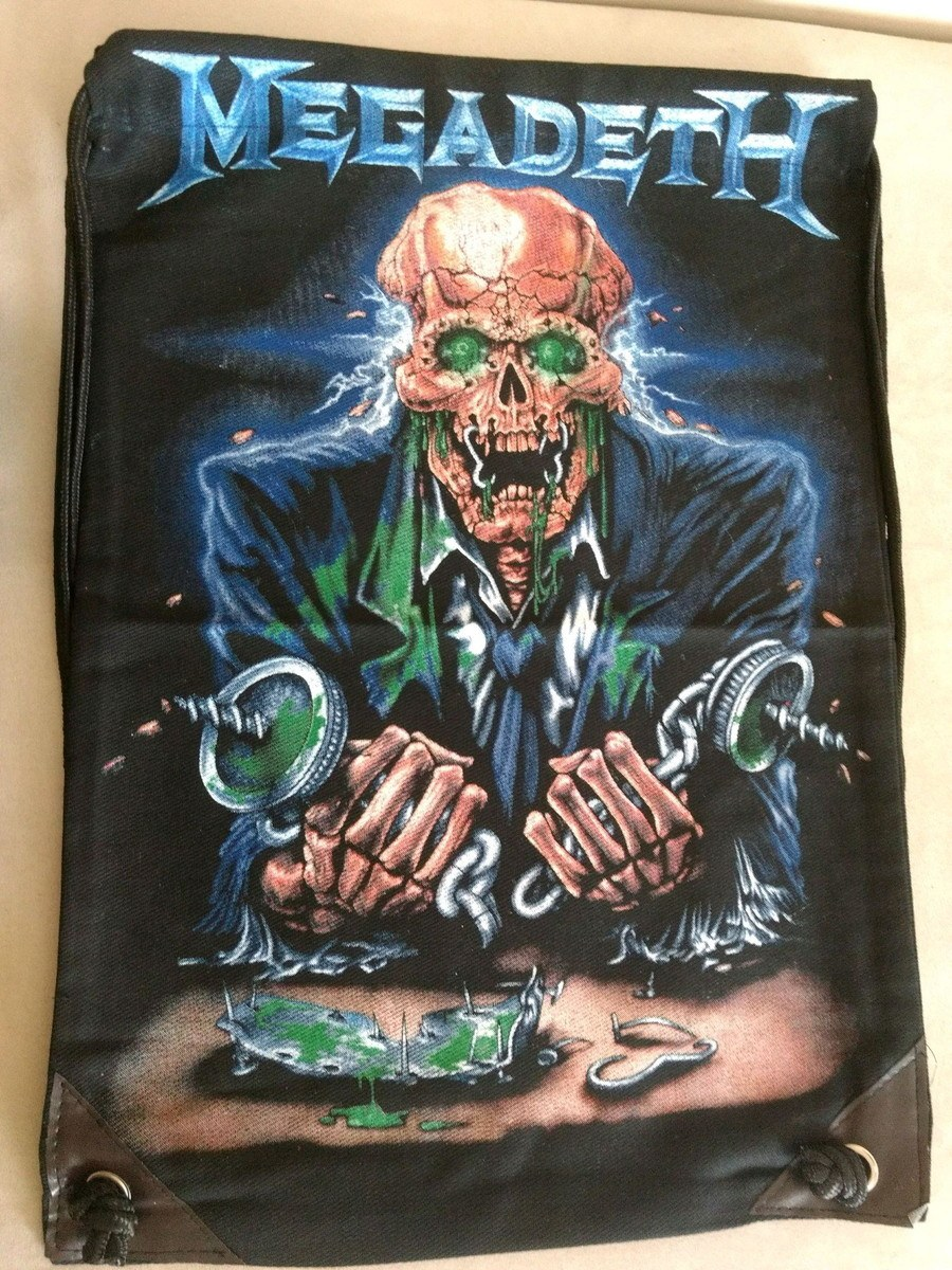 Mochila Banda Megadeth Casual azul Importada
