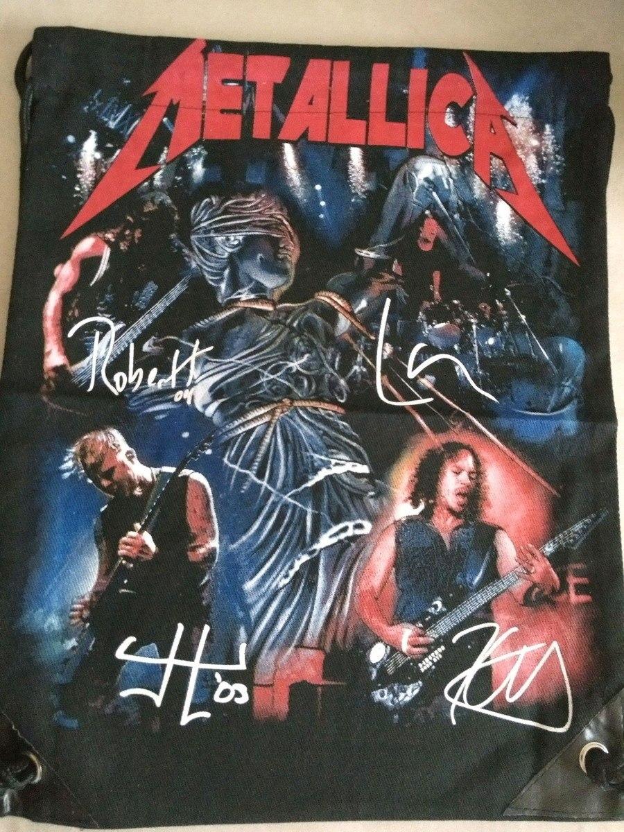 Mochila Banda Metallica Casual Banda Importada