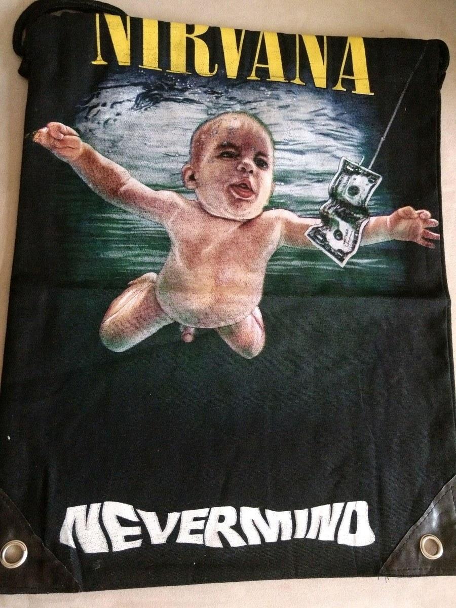 Mochila Banda Nirvana Casual Importada