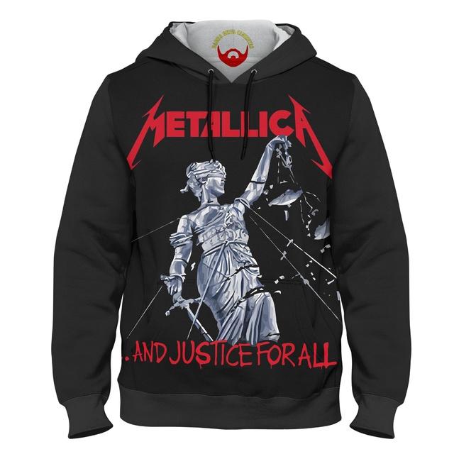 Moletom Blusa de Frio Metallica And Justice For All