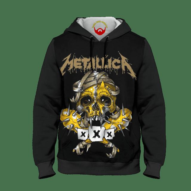 Moletom Blusa de Frio Metallica Caveira