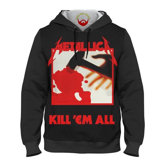 Moletom Blusa de Frio Metallica Kill Em All