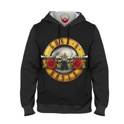 Moletom Infantil Guns N' Roses Logotipo