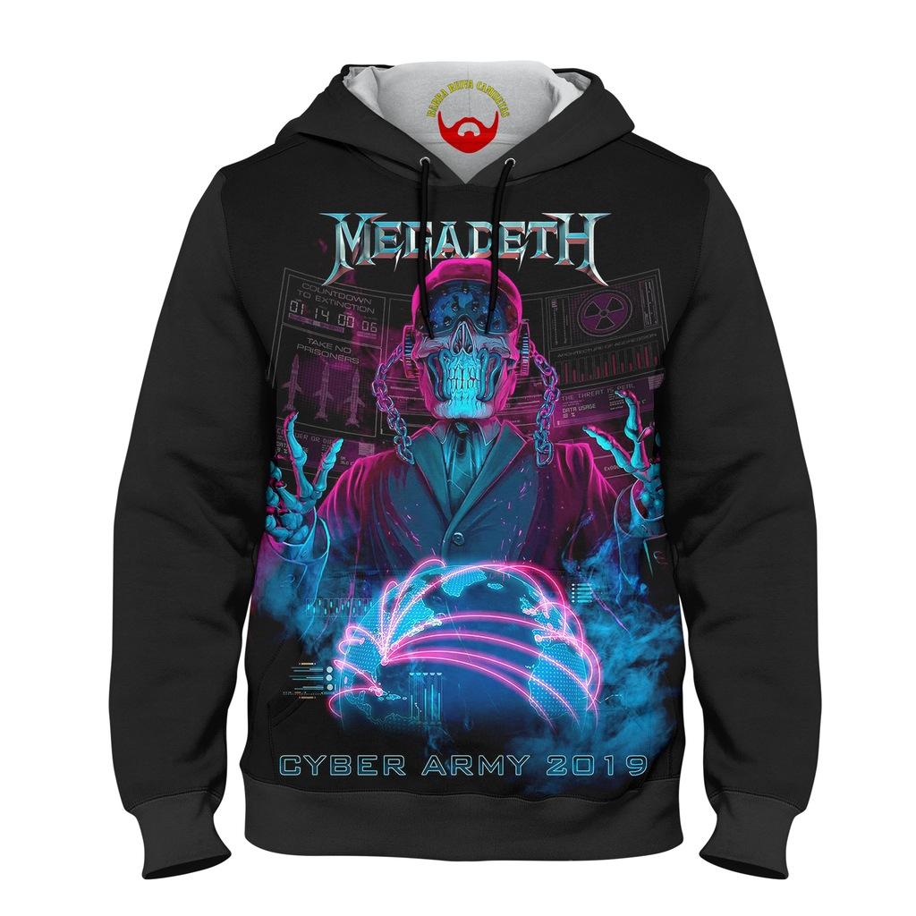 Moletom Infantil Megadeth Cyber Army 2019
