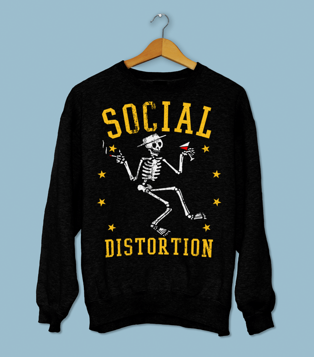 Moletom Social Distortion - Vortex