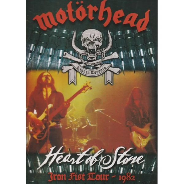Motorhead - Heart of Stone - Iron Fist Tour 1982 DVD