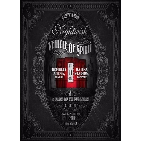 Nightwish - Vehicle of Spirit DVD triplo