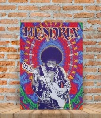 Placas decorativas Jimi Hendrix