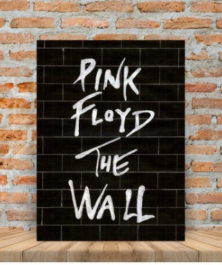 Placas decorativas Pink Floyd