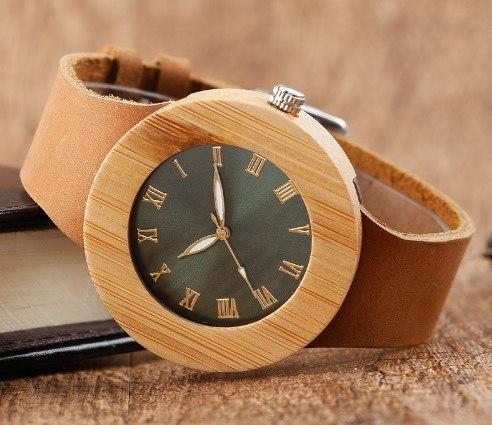 Relógio de Madeira Floresta Classic - SkullAchando
