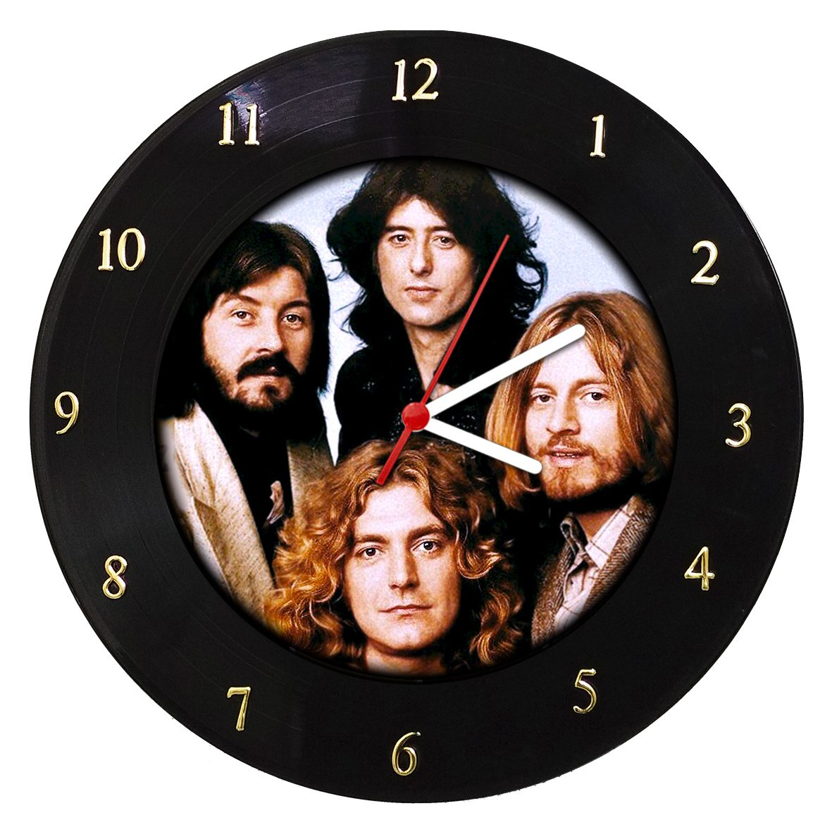Led Zeppelin - Relógio de Parede em Disco de Vinil - Mr. Rock
