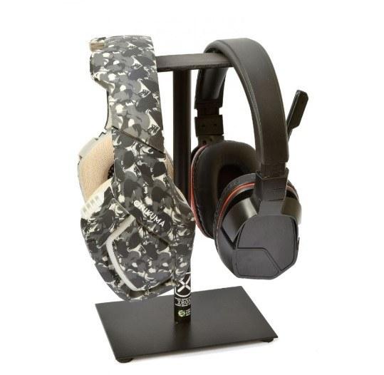 Suporte para dois fones de ouvido Headset IB009BK