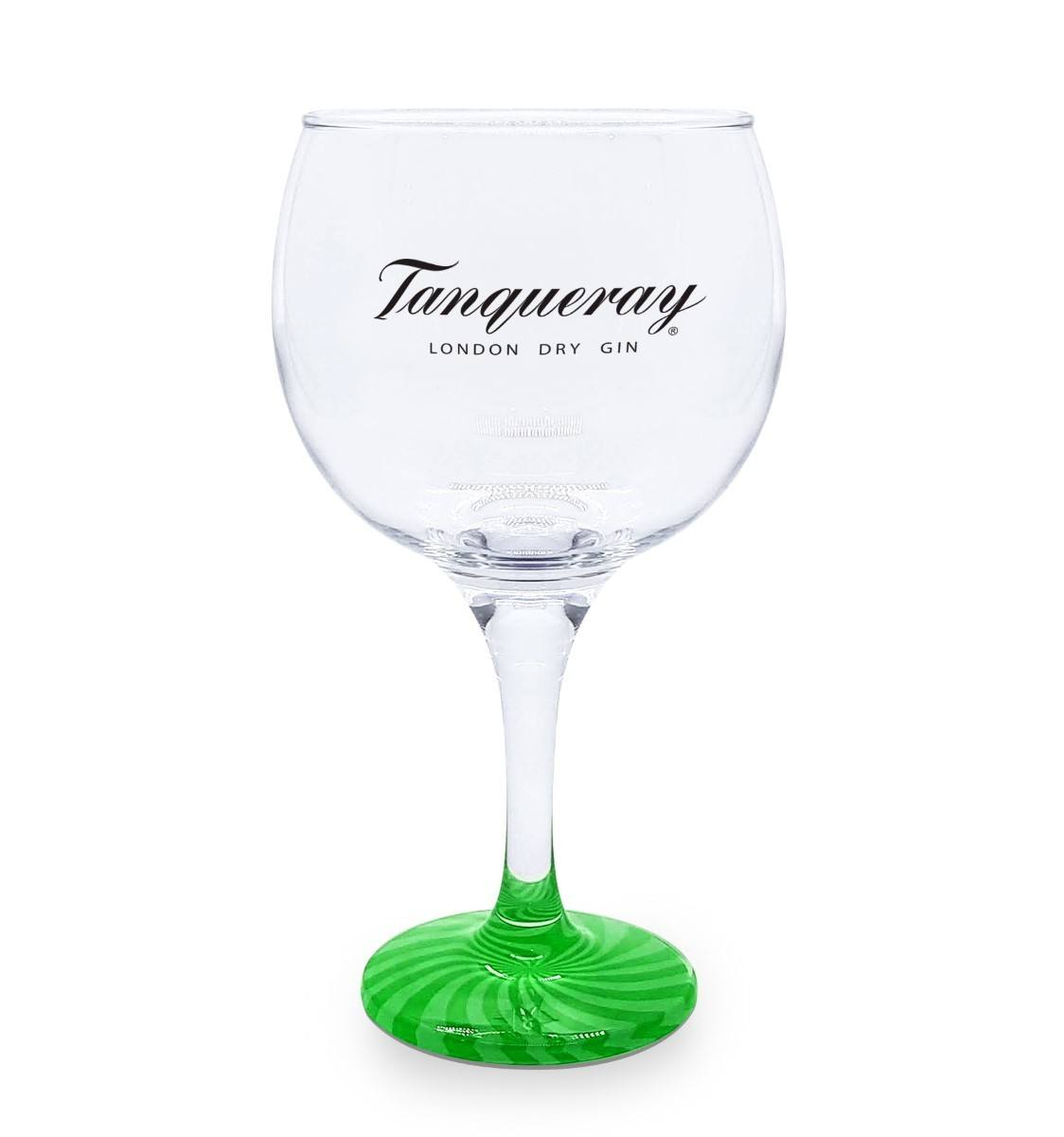 Taça Gin Vidro  Tanqueray base Verde  600ml