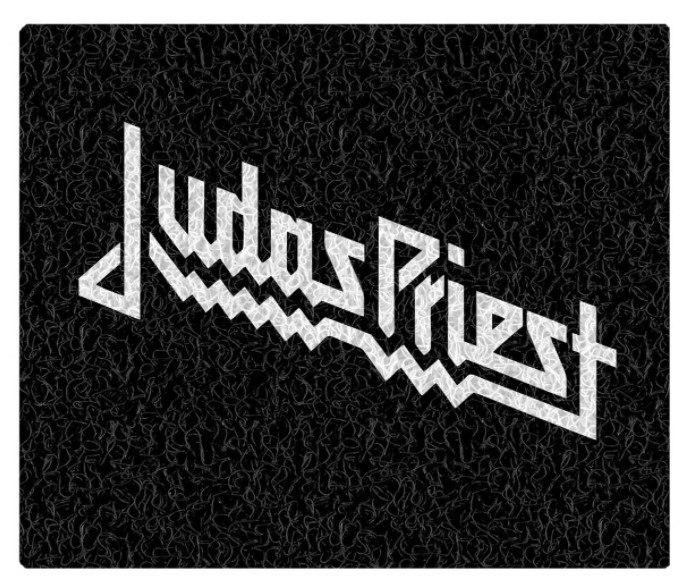 Tapete Capacho Decorativo Judas Priest
