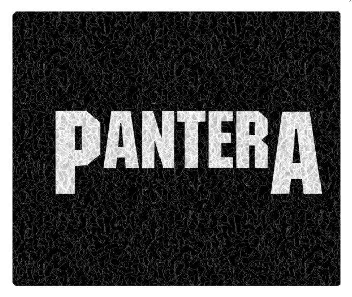 Tapete Capacho Decorativo Pantera