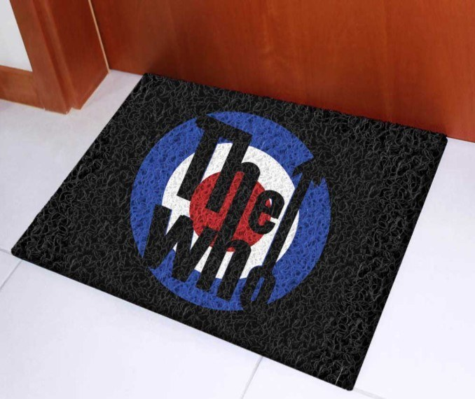 Tapete Capacho Decorativo The Who