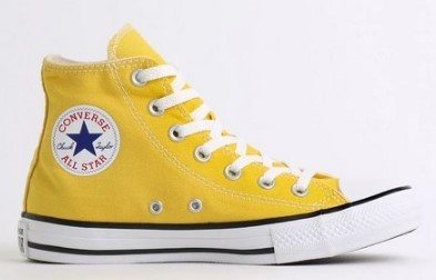 TÊNIS CONVERSE CHUCK TAYLOR ALL STAR AMARELO VIVO CT04190034