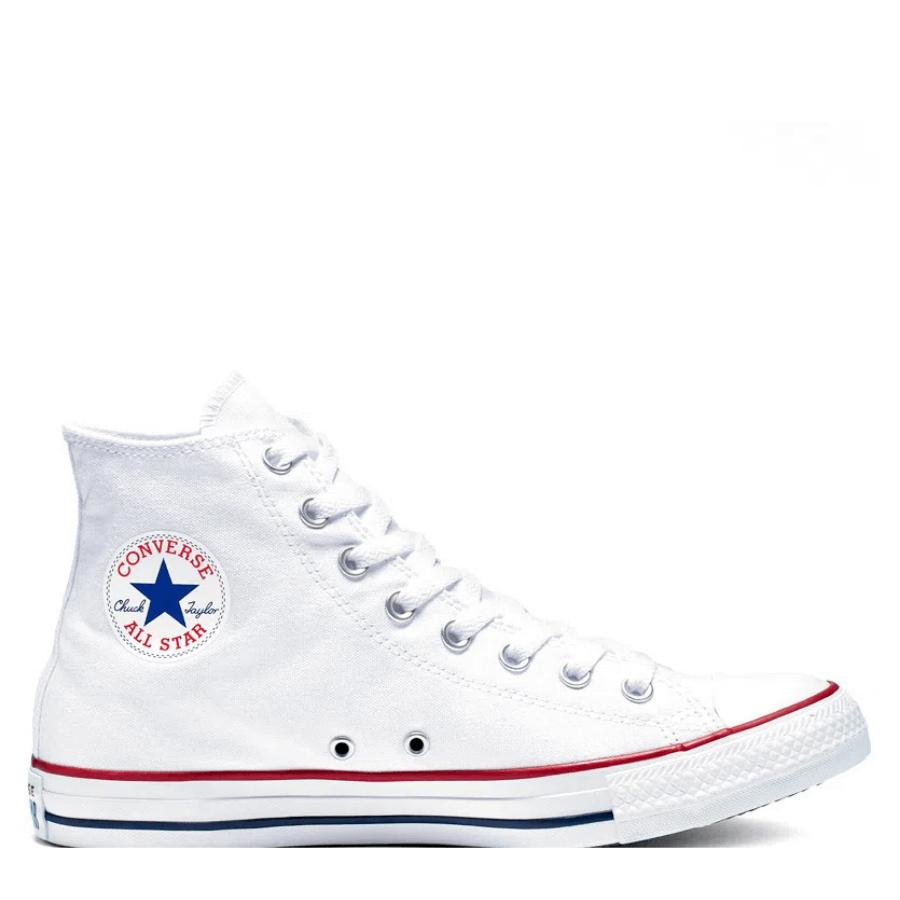Tênis Converse Chuck Taylor All Star Branco/Branco/Marinho CT00040001