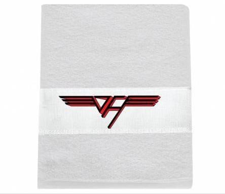 Toalha Van Halen rosto