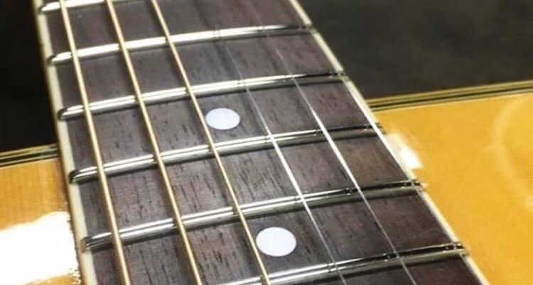 Troca de Trastes Nickel Instrumentos de corda