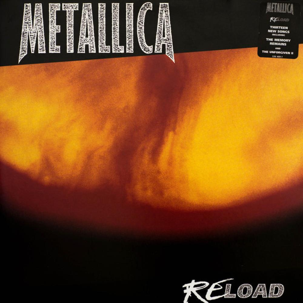 Vinil Metallica - Reload - lp Duplo - Importado