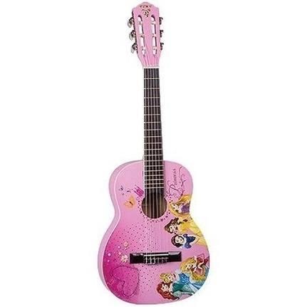 Violão Disney Infantil Princess Vip 3 PHX