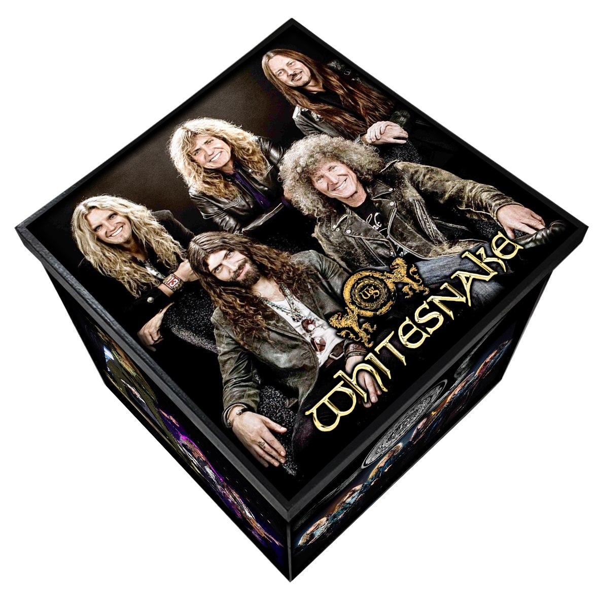 Whitesnake - Caixa em MDF - Tamanho Grande - Mr. Rock
