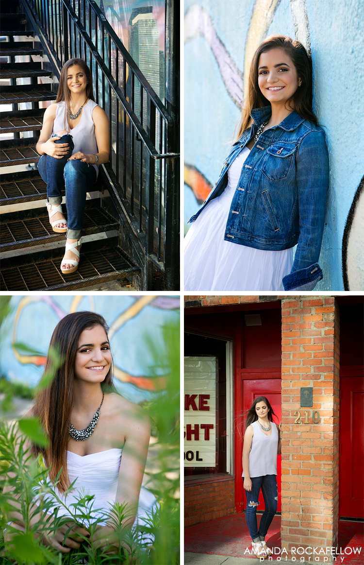 Senior Photos in Ann Arbor