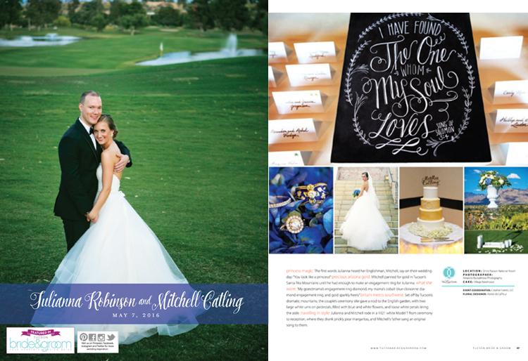 Tucson Bride & Groom Magazine - Winter/Spring 2017