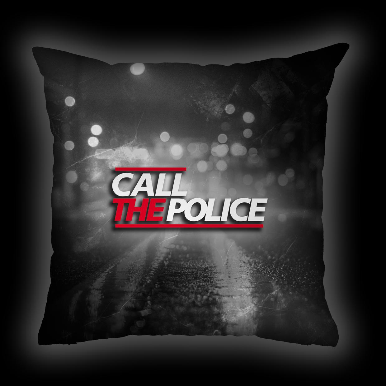 Almofada Call the Police - Lights (PB)