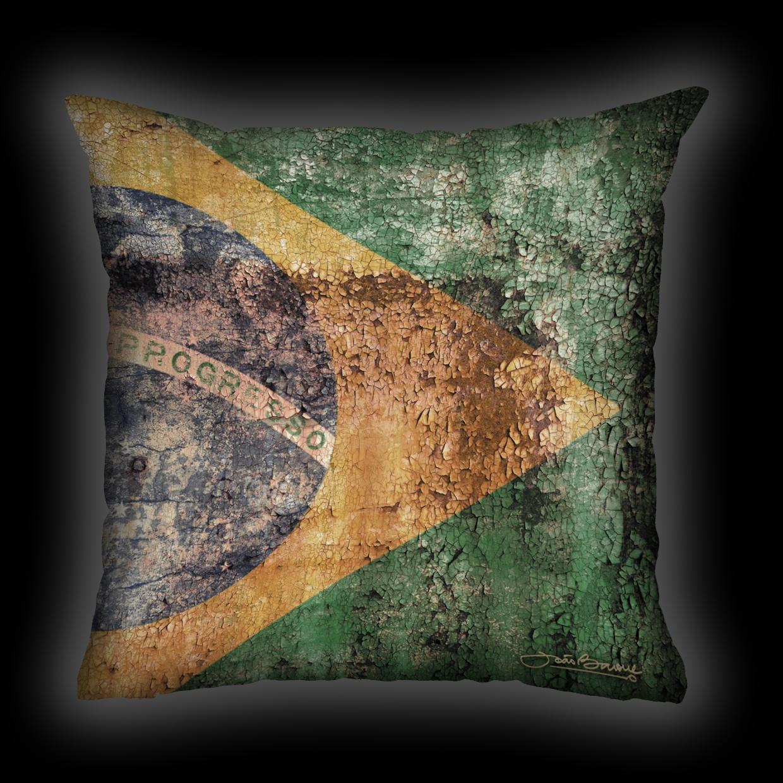 Almofada João Barone - Brasil