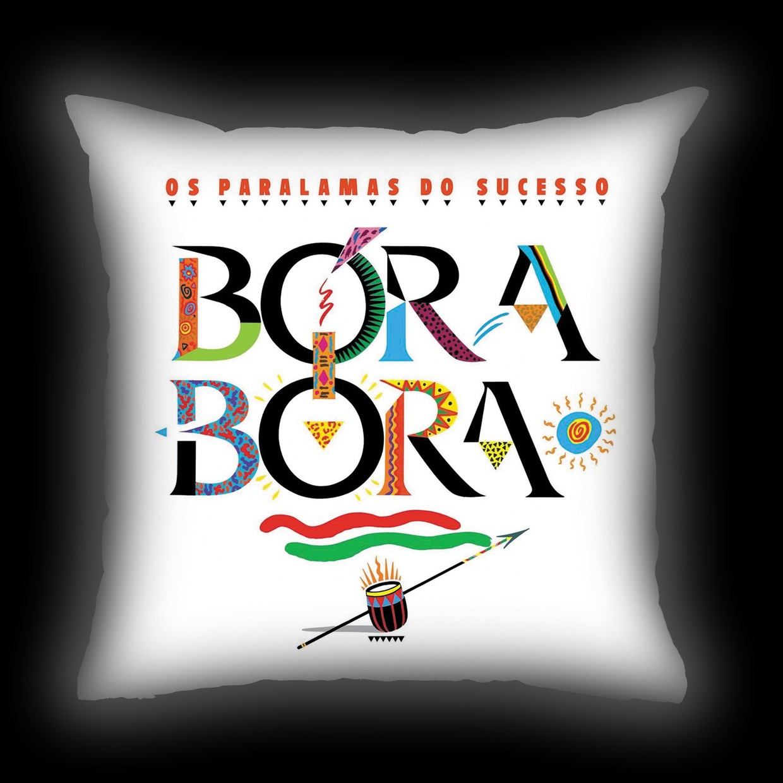 Almofada Paralamas do Sucesso - Bora Bora
