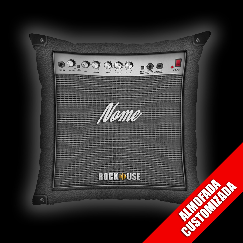 Almofada Personalizada Rock Use