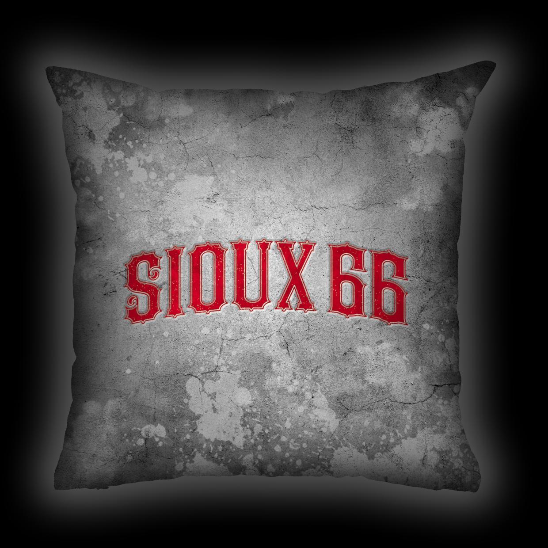 Almofada Sioux 66 - Logo