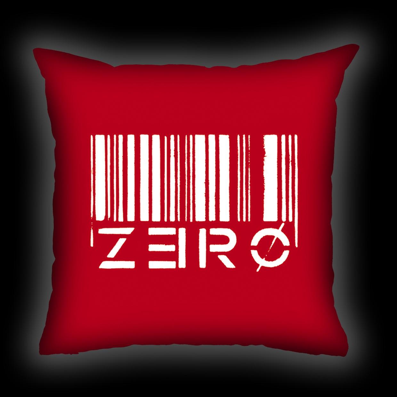 Almofada Zero - Code Zero (Vermelha)