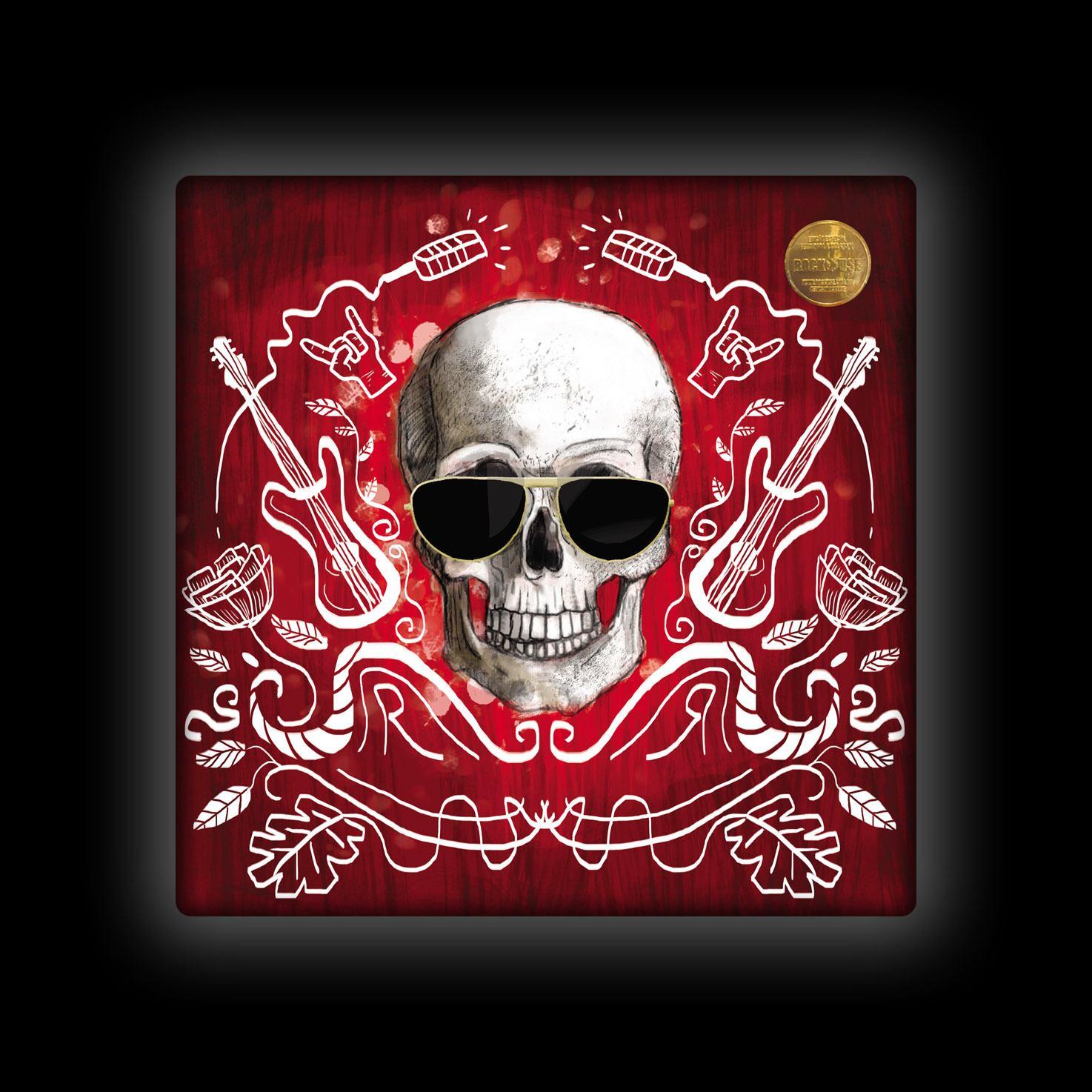 Capa de Almofada Ale Graziani - I Love Rock'n'Roll - Vermelha
