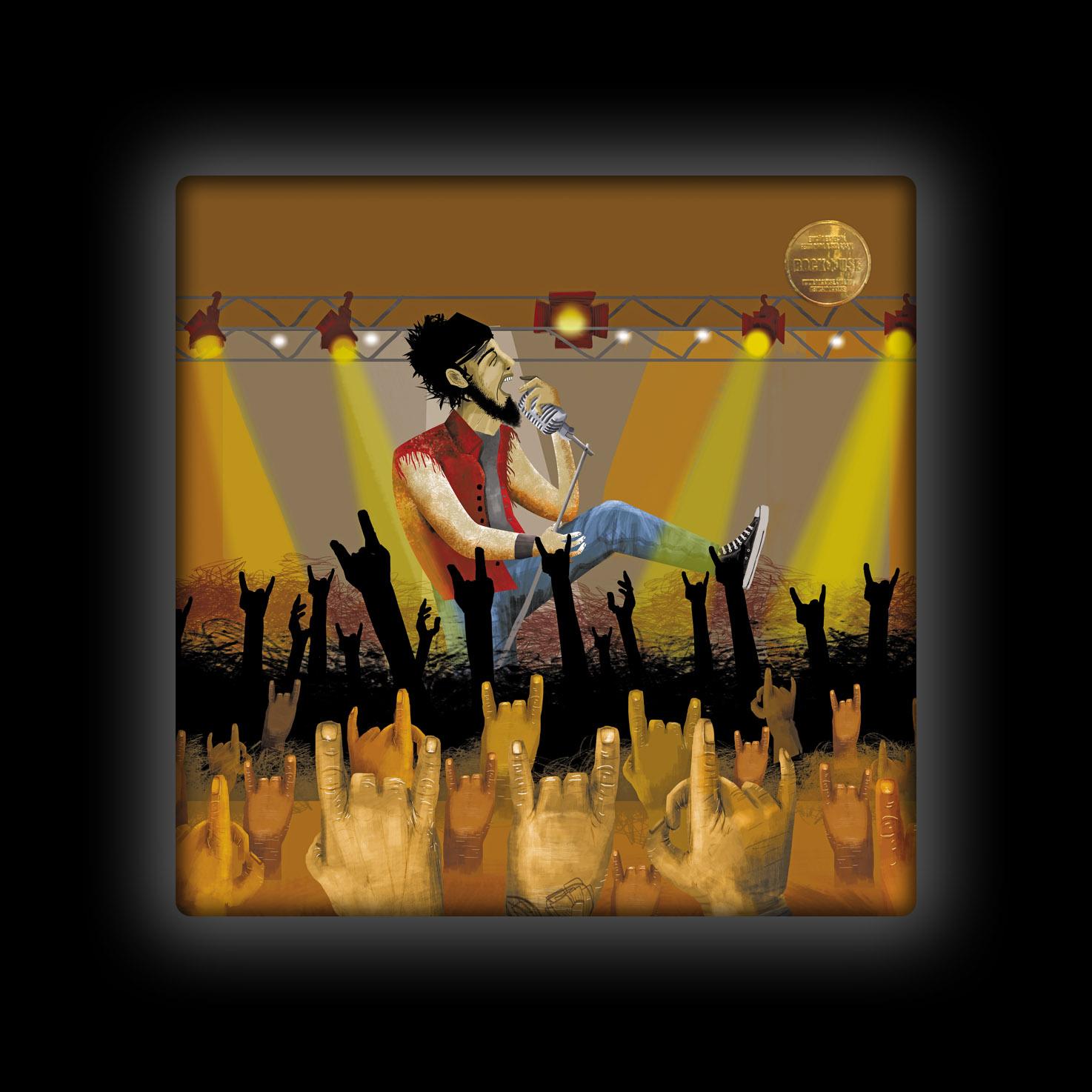 Capa de Almofada Ale Graziani - O Vocalista Inspirado