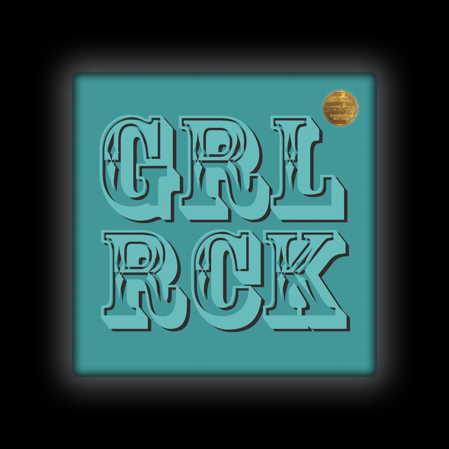 Capa de Almofada Bia Lombardi - Girl Rock