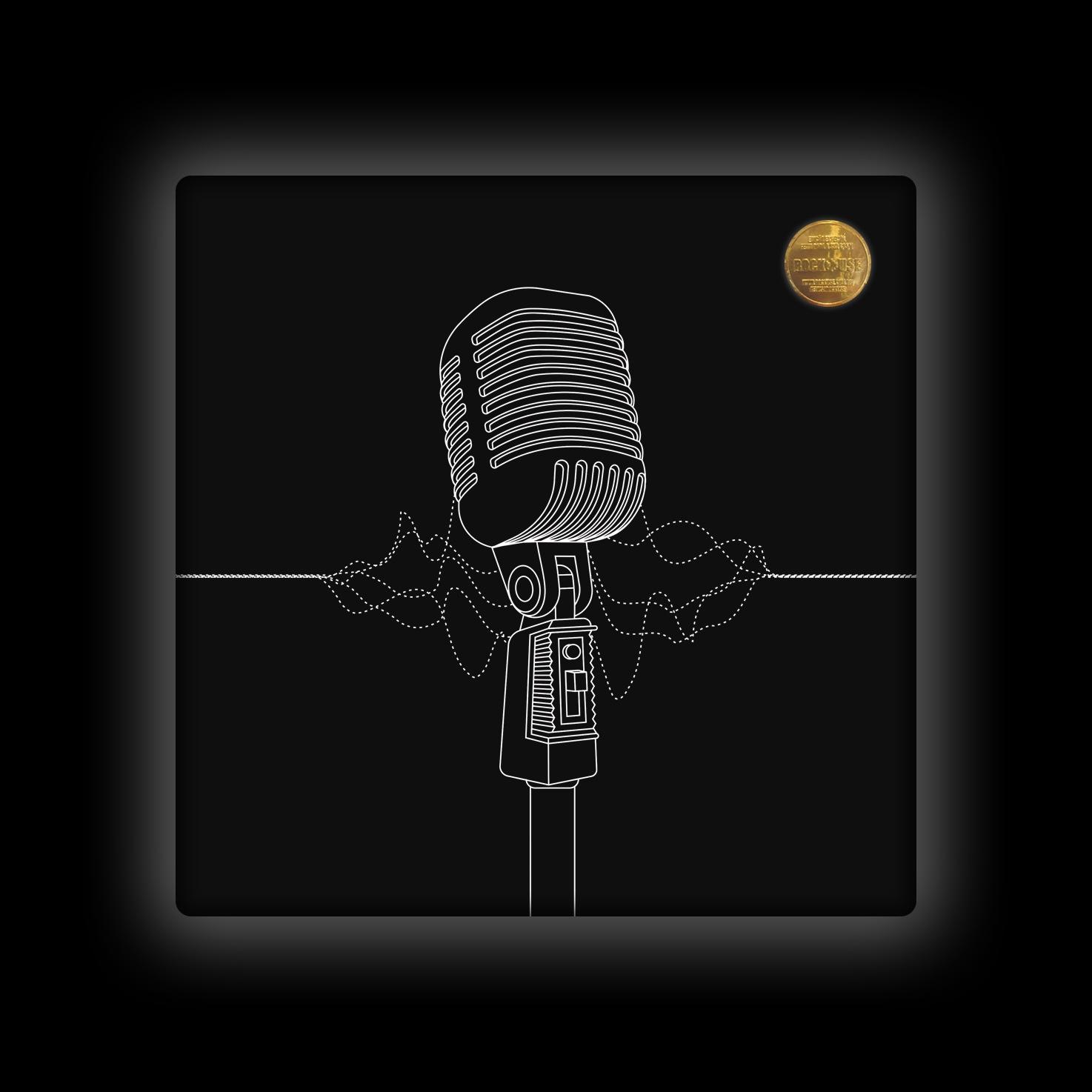 Capa de Almofada Bia Lombardi - Solta a Voz - Preta